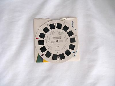 View Master  Reel  A7024  Franconia Notch  1950s
