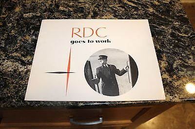 Rdc Goes To Work 1951 Magazine (Rail Diesel Car) Budd Company Philly Pa (139)