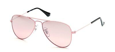 NEW Authentic RAY-BAN Junior Aviator Pink Kids Girls Sunglasses RJ 9506 S 211/7E