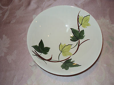 Vintage Blue Ridge Pottery Ivy Hand Painted #41 58 No Chips Or Cracks