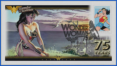Wonder Woman...  DC Comics... First Day Cover 2016 #026