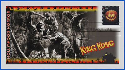 Halloween Classic Movie Monsters First Day Cover 2016: King Kong #494