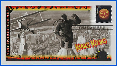 Halloween Classic Movie Monsters First Day Cover 2016: King Kong #492