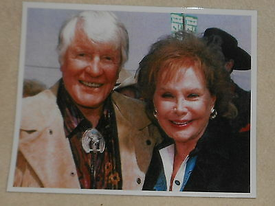 ROBERT HORTON  COLOR PHOTO From HORTON'S PRIVATE COLLECTION w: Rhonda Fleming