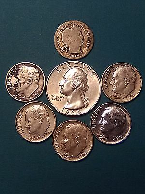 90% Silver Coins ($0.85 FV) group C