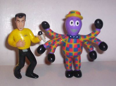 "The Wiggles 3"" Tall  PVC Greg +  Henry the Octopus Figures Cake Toppers"