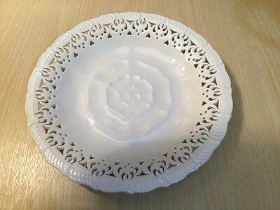 Authentic Leedsware Pierced Fluted Plate