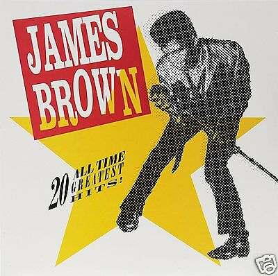 James Brown - 20 All-Time Greatest Hits - 2Lp Vinyl Lp - Neu
