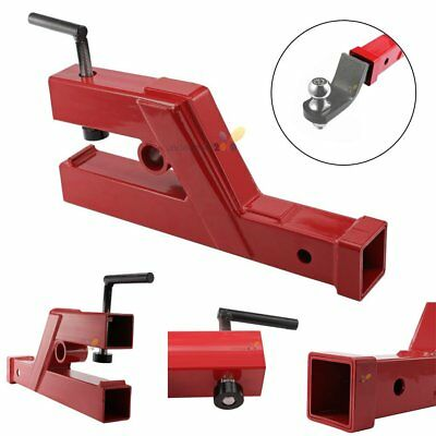 """HD Clamp On Trailer Receiver Hitch 2"""" for Deere Bobcat Tractor Bucket"""