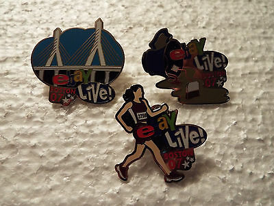 """eBayana - """"3 Collectible PINS"""" - from eBay Live Boston 2007 - Collectibles"""