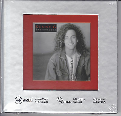 """""""Kenny G - Breathless"""" 24-bit/192 kHz Limited Numbered Edition USA AMCD CD New"""