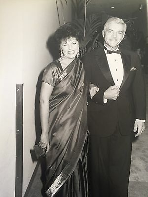 """Orginal Candid Bill Hayes Of """"days Of Our Lives,"""" And His Wife In 1986"""