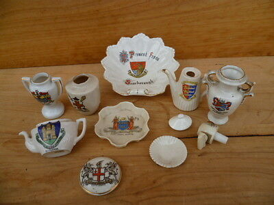 Vintage Old Small Lot Of China Miniatures Set, (C272)