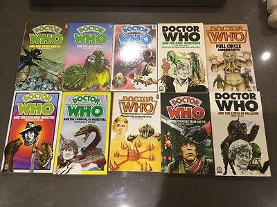 10 Target Doctor Who Paperback Stories T Dicks M Hulke A Smith B Hayles D Fisher