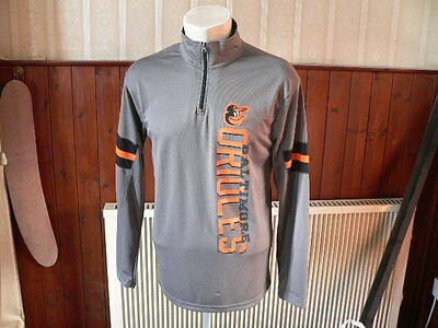 baltimore orioles long sleeve jersey baseball top size M