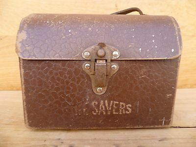 Vintage Old Life Savers, Lunch-Box, Old Advertising Case (C765)