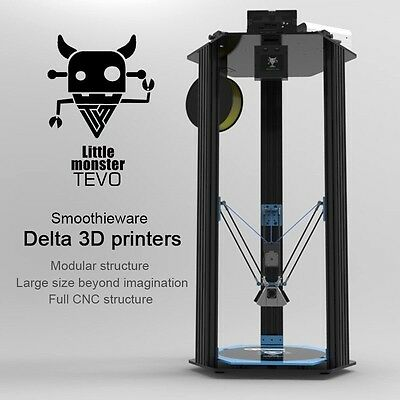 2017 Newest TEVO Delta Printing Area D340xH500mm OpenBuilds Extrusion