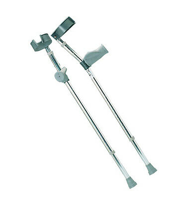 Forearm Crutches with Ergonomic Grip Pair (Large)