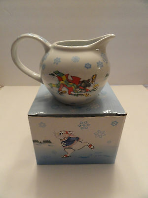 Alice in Winterland 11 Oz. Creamer By Paul Cardew New in Decorated Gift Box