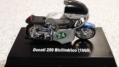 A 1960 Ducati 250 Bicilindrico  Motor Cycle    By Newray Collectables