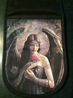 Anne Stokes Gothic Angel Rose Oven Mit - NEW