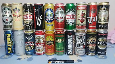 POLISH 233 BEER CANS - promo