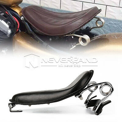 """13.6"""" Solo Selle Siège Ressorts Support  Pour Harley Sportster Dyna 883 1200 XL"""
