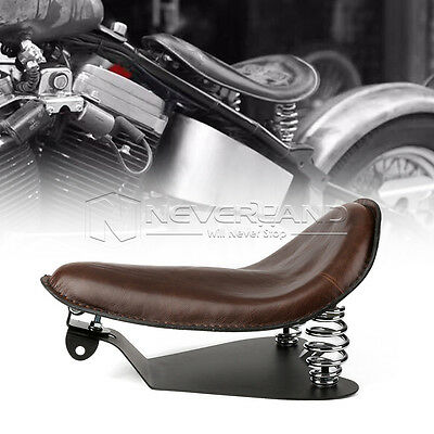 """14.4"""" Solo Selle Siège Ressorts Support  Pour Harley Dyna 883 1200 XL Slimline"""