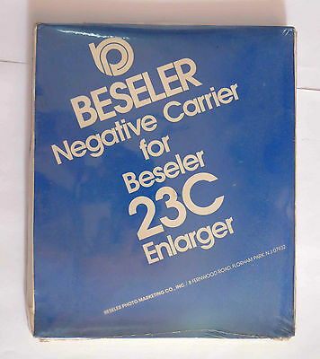 Beseler 8113 110 Negative Carrier 110 Instamatic For 23C film darkroom (NOS)