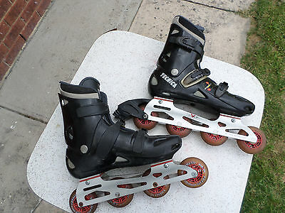 TECNICA roller blades MADE IN ITALY MENS SIZE 10-12.5