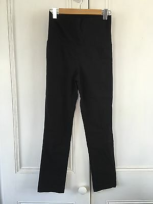 Soon Maternity Black Work Trousers Size 8