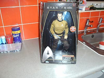 """Star Trek Command Series 12"""" Figure Of Captain Pike - New Boxed 2009"""