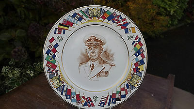 Admiral Leahy  World War 2 Plate USA Allied Nations Commemorative Series