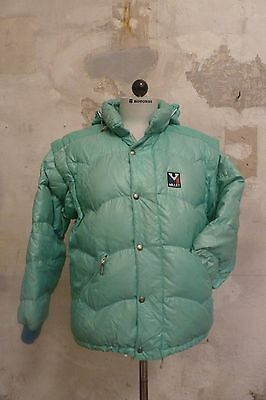 MILLET Down Jacket Piumino Duvet made in France Ultra Rare VINTAGE MOUNTAIN