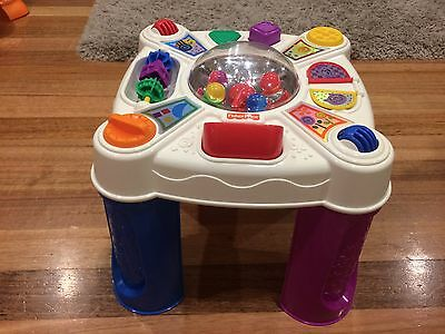 Fisher Price Poptivity Musical Activity Table