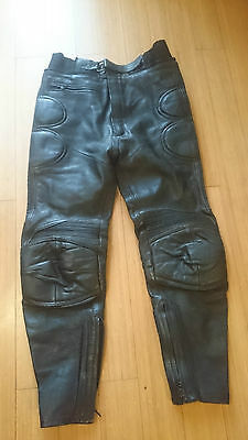 Richa Motorcycle Leather Trousers Size 34