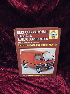Bedford Rascal Workshop Manual