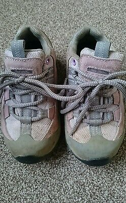 Girls Peter Storm walking shoes hiking shoes size 10 infant