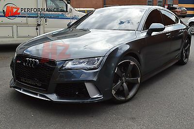 New Rs7 Type Side Skirts | Audi A7 2011 -2014 Se Models | Pp Plastic Add On