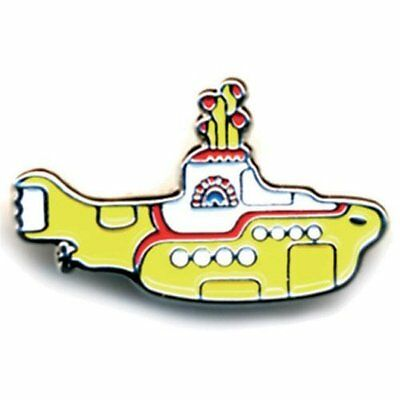 THE BEATLES METAL PIN BADGE: YELLOW SUBMARINE  NEW CARDED BAGGED Official