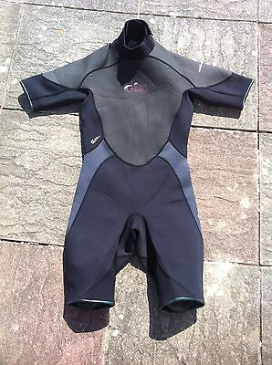 Adults Mens Gill Hurricane Shortie Wetsuit Size S Small 3x2mm Shorty