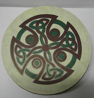 "IRELAND Irish MUSIC 8"" CAREW CROSS IRELAND Waltons Bodhran Drum Beater 2 Items"