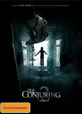 The Conjuring 2, Dvd, New & Sealed, Region 4.