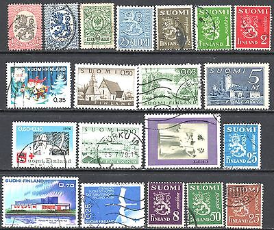 Finland Clearance - 20 Used Stamps