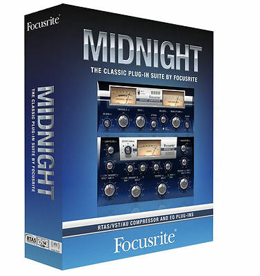 Focusrite Midnight AU, VST & RTAS Plugin for Mac or Windows – Instant eDelivery