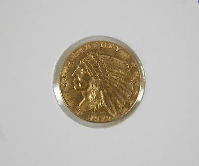 1929 United States Gold $2.50 Indian Head - Free Postage in Australia