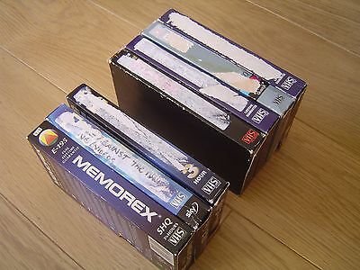 7 USED E180 BLANK PAL VHS VIDEO CASSETTE TAPES for only £14 with FREE POSTAGE