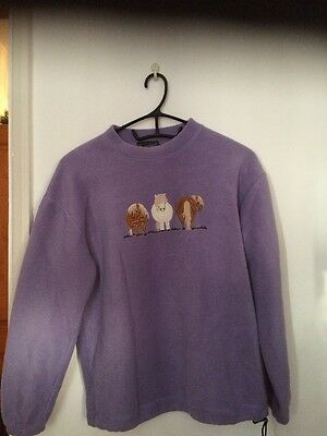 Shires Lilac Fleece size XL Childs