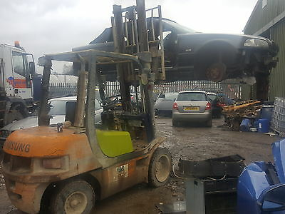 3.5Ton Samsung forklift diesel very strong -