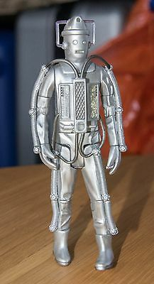 "Dr Who Action Figure 5"" 1960s Cyberman 2nd Doctor Patrick Troughton"